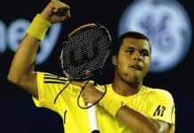 Jo-Wilfried Tsonga Autograph Signed Photo